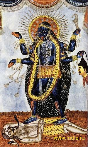 фото богиня кали