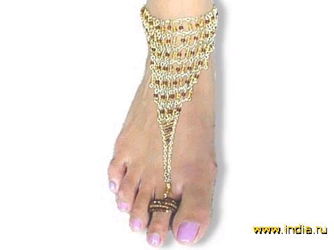 15. Кольца для пальцев ног.
