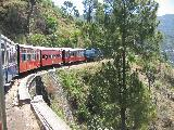 train to shimla