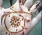 Mehendi art from Natasha