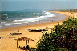 Золотые пляжи...